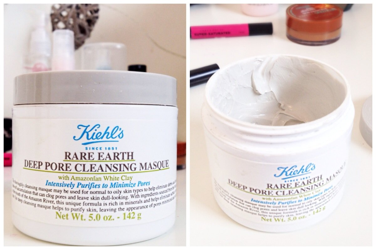 Review mặt nạ đất sét Keilh's Rare Earth Deep Pore Cleansing Masque