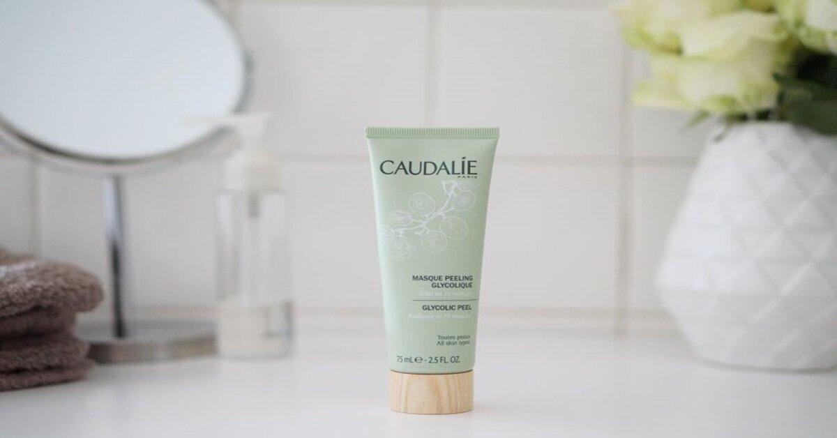 Review mặt nạ tẩy da chết dịu nhẹ làm sáng da CaudalieMasque peeling glycolique