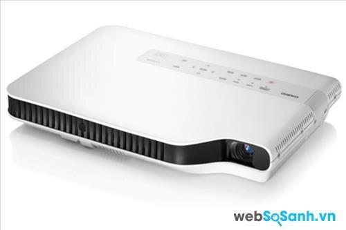 Review máy chiếu tài liệu siêu mỏng Casio Slim XJ -A252