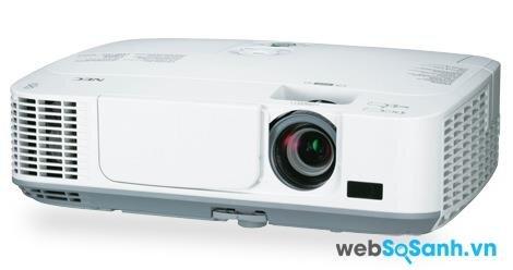 Review máy chiếu tầm trung giá rẻ NEC- NP-M271X