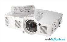 Review máy chiếu với ống kính ngắn Optoma GT1080