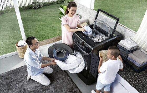 Review máy giặt sấy Samsung 21 kg Flexwash WR24M9960KV/SV có tốt không