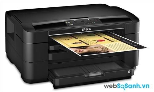 Review máy in cỡ giấy lớn giá rẻ Epson WorkForce WF 7010