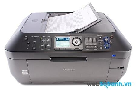 Review máy in đa chức năng cho văn phòng Canon Pixma MX870
