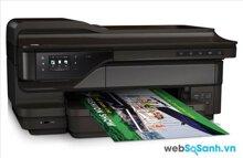 Review máy in đa năng có khả năng xử lý cỡ giấy A3 HP Officejet 7610