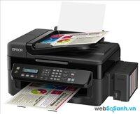 Review máy in đa năng Epson EcoTank L555 với hộp mực chi phí thấp