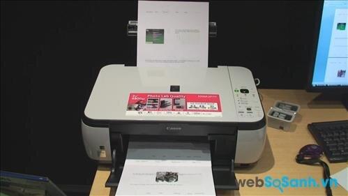 Review máy in đa năng giá rẻ Canon Pixma MP270