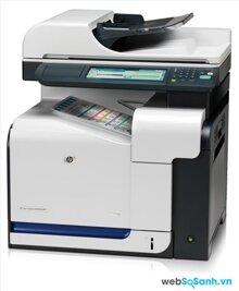 Review máy in đa năng hiệu suất cao HP LaserJet CM3530fs