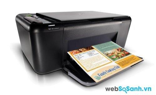 Review máy in đa năng HP Deskjet F4580