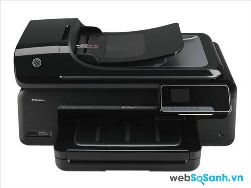 Review máy in đa năng màu HP Officejet 7500A