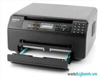 Review máy in laser đa năng có scan giá rẻ Panasonic KX -MB1500