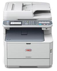 Review máy in laser màu đa năng scan, fax Oki MC362w