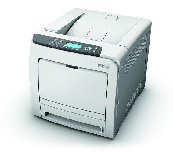 Review máy in laser màu hiệu suất cao, tiết kiệm điện năng Ricoh Aficio SP C320dn