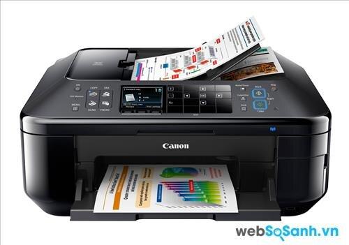 Review máy in phun đa năng scan, fax Canon Pixma MX897