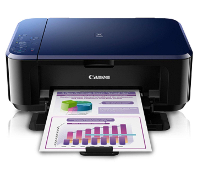 Review máy in phun màu đa năng có scan Canon Pixma E 560