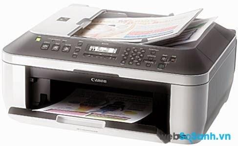 Review máy in phun màu giá rẻ có scan, fax Canon Pixma MX328