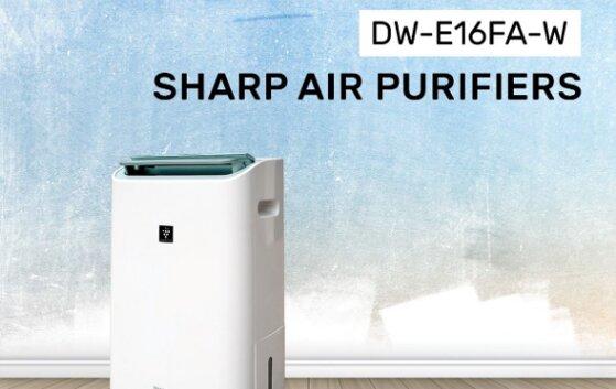 Review máy lọc không khí và hút ẩm Sharp DW-E16FA-W tốt không, giá bán