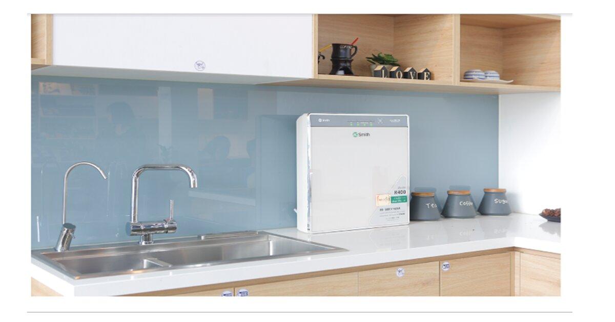 Review máy lọc nước A. O. Smith K400: Thiết kế hoàn hảo – đột phá công nghệ – an tâm sử dụng