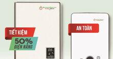 Review máy nước nóng hồng ngoại có tốt không, độ bền, an toàn, giá bao nhiêu