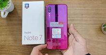 """Review nhanh điện thoại Xiaomi Redmi Note 7 đang """"làm mưa làm gió"""" trên thị trường"""
