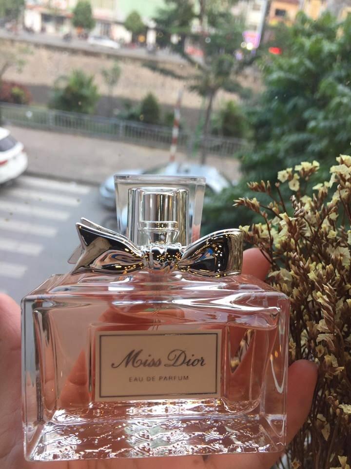 Review nước hoa Miss Dior Eau de parfum phiên bản 2017