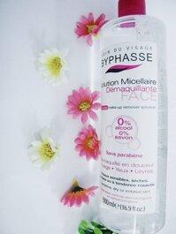 Review nước tẩy trang giá rẻ micellar Byphasse