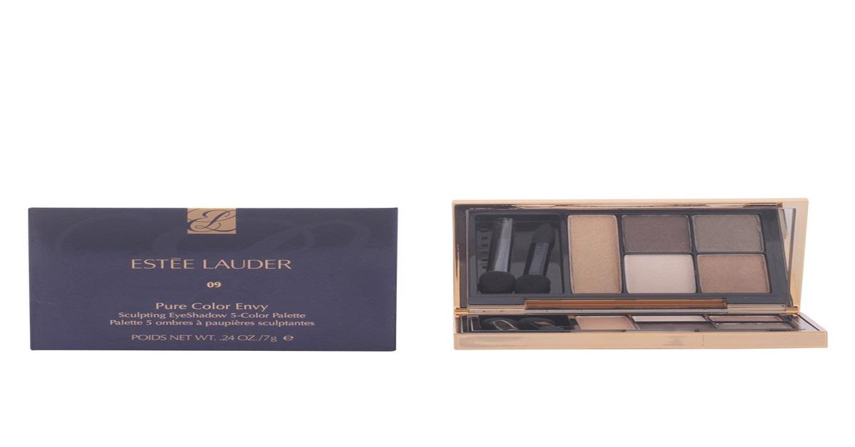 Review phấn mắt Estee Lauder Sculpting Eyeshadow 5-Color Palette