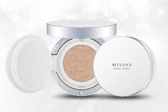 Review phấn nước Missha M magic Cushion