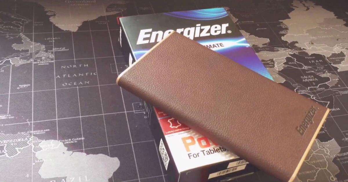 Review pin sạc dự phòng Energizer 10,000mAh