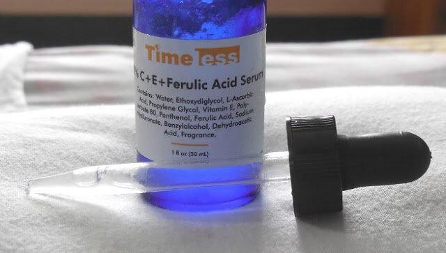 Review serum chống lão hóa Timeless Skincare 20% C + E + Ferulic Acid Serum