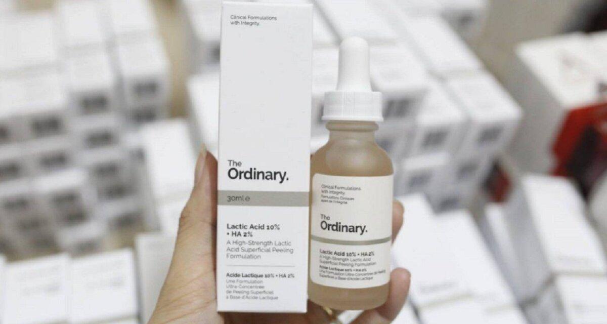 Review Serum dưỡng ẩm trị thâm The Ordinary Lactic Acid 10% +HA 2% cho da nhạy cảm