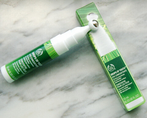 Review Serum dưỡng mắt The Body Shop Drops of Youth Eye Concentrate