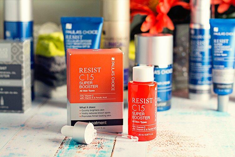 Review serum Paula's Choice Resist C15 Super Booster