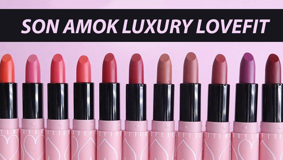 """Review son Amok Luxury Lovefit – Liệu có là """"cơn sốt mới"""" dành cho tín đồ son môi?"""