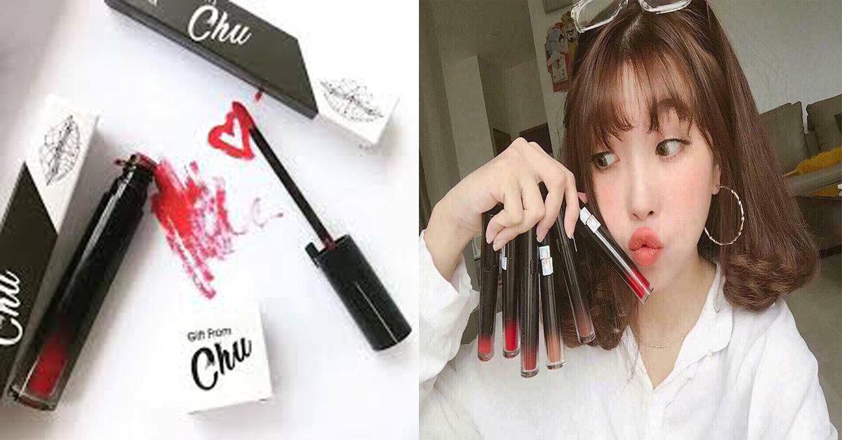 Review son Chu lipstick có tốt không? Son Chu lipstick màu nào đẹp? Giá bao nhiêu?
