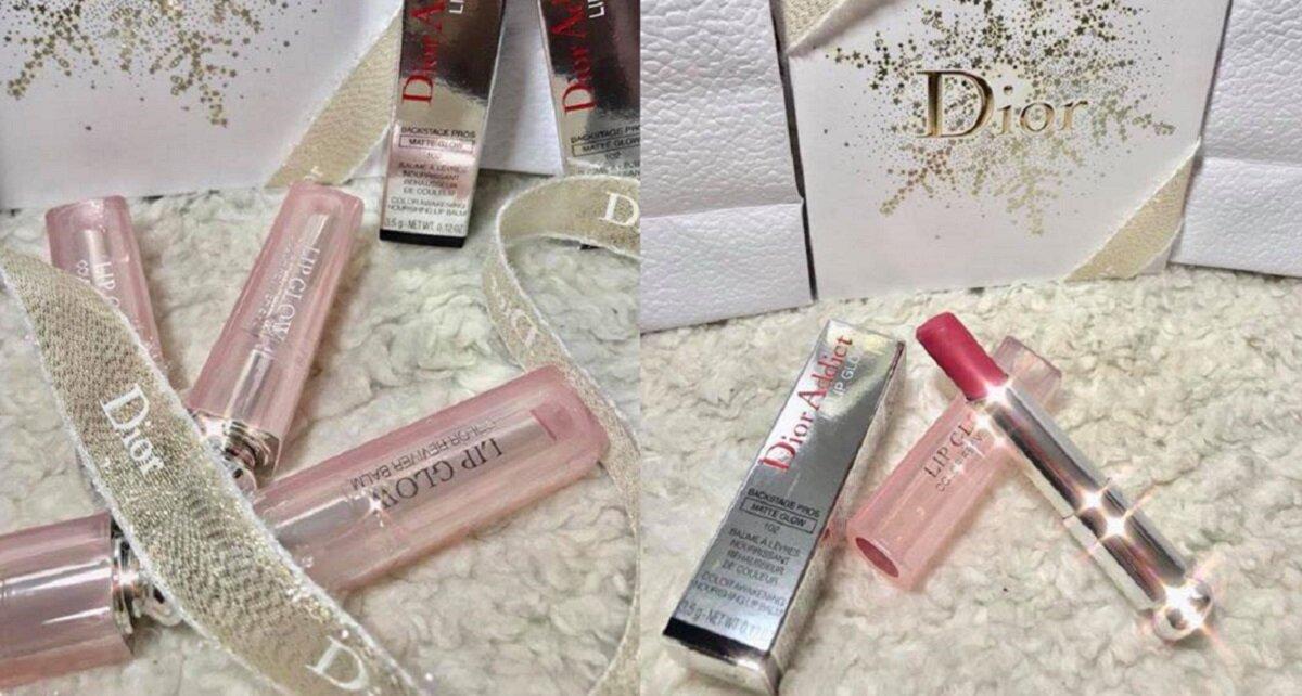 Review son dưỡng dạng lì Dior Lip Glow Matte 2017