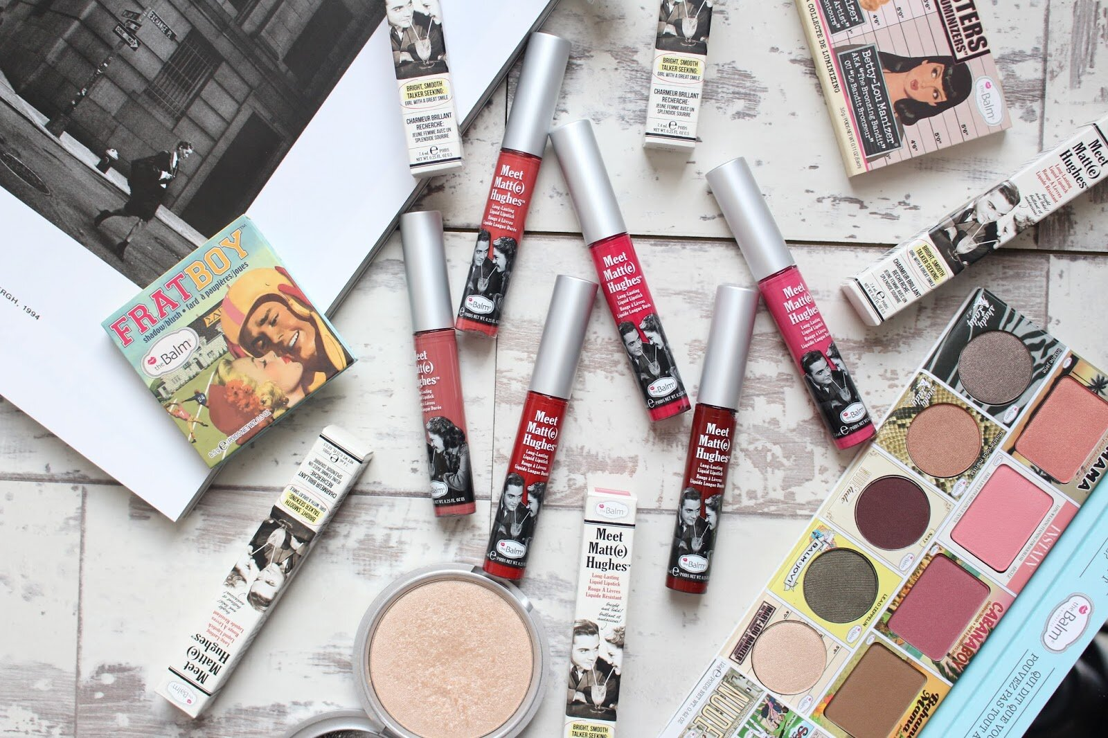 Review son kem lì The Balm Meet Matte Hughes Lip Color