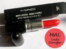 Review son MAC Matte Lipstick Lady Danger