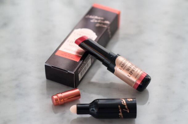 "Review ""son rượu"" Chateau Labiotte Wine Lipstick (Melting và Fitting)"