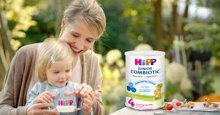 Review sữa mát cho bé – sữa công thức HiPP Organic Combiotic
