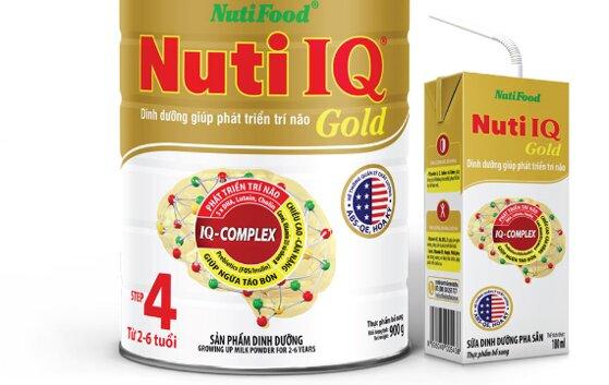 Review sữa Nutifood IQ có tốt không, giá bán, công dụng, loại nào tốt?