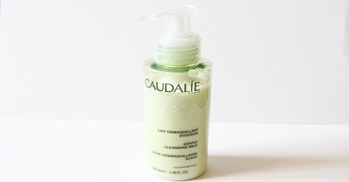 Review sữa rửa mặt Caudalie Gentle Cleansing Milk