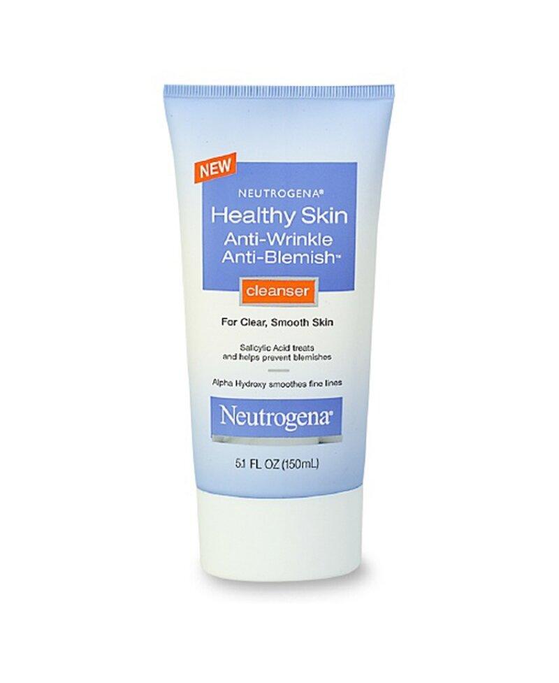 Review sữa rửa mặt chống lão hóa Neutrogena Healthy Skin Anti-Wrinkle