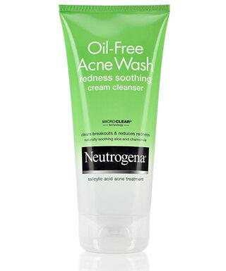 Review sữa rửa mặt dạng kem giảm mẩn đỏ, kích ứng Neutrogena Oil-Free Acne Wash