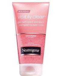 Review sữa rửa mặt Neutrogena Oil Free Acne Wash bưởi hồng
