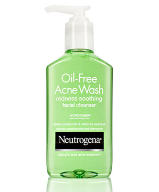 Review sữa rửa mặt ngừa mụn, giảm mẩn đỏ Neutrogena Oil-Free Acne Wash Redness Soothing