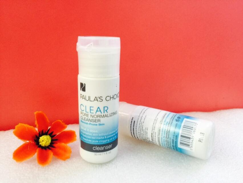 Review sữa rửa mặt Paula's Choice Clear Pore Normalizing Cleanser
