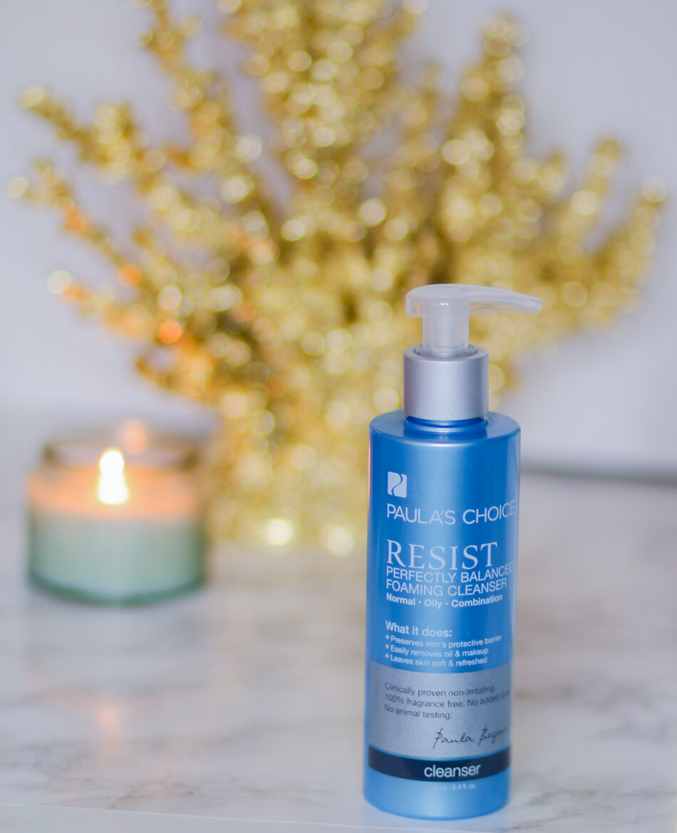 Review sữa rửa mặt Paula's Choice Resist Perfectly Banlanced Foaming Cleanser