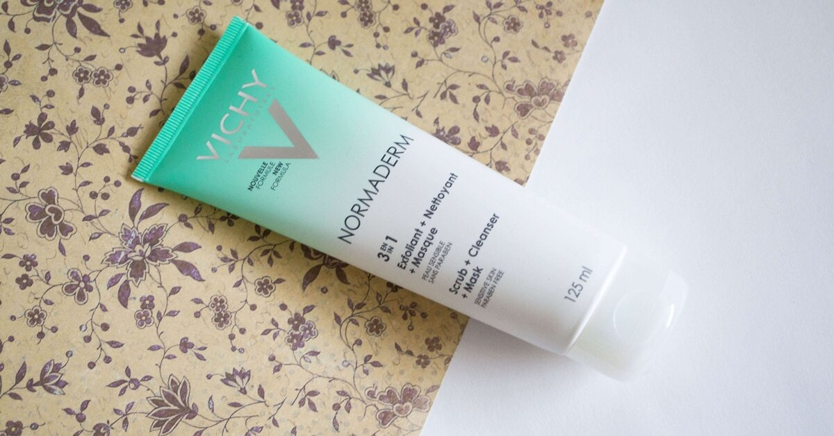 Review tẩy da chết Vichy NORMADERM 3 in 1