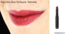 Review thỏi son Lì Cao Cấp Không Khô Môi 9 Tông Màu – STUDIOMAKEUP Velour Lipstick SVL